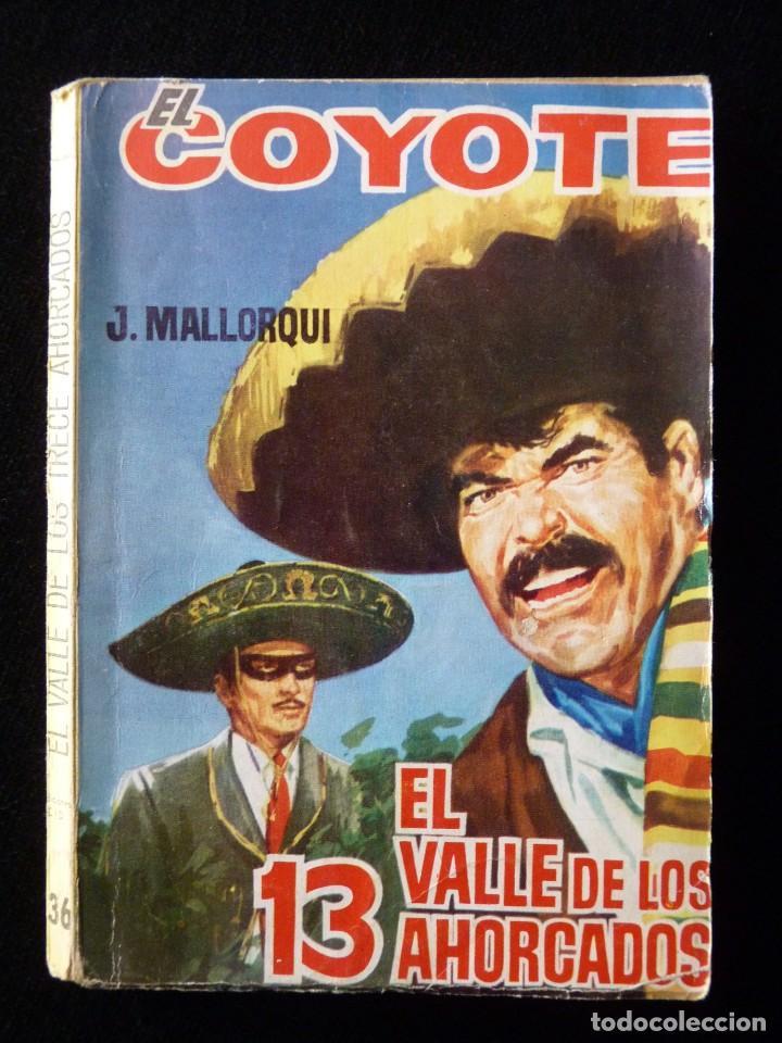 Tebeos: LOTE DE 19 NOVELAS DEL COYOTE. J. MALLORQUI. EDICIONES CID, AÑOS 60 - Foto 12 - 108689639