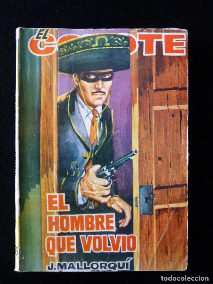 Tebeos: LOTE DE 19 NOVELAS DEL COYOTE. J. MALLORQUI. EDICIONES CID, AÑOS 60 - Foto 14 - 108689639