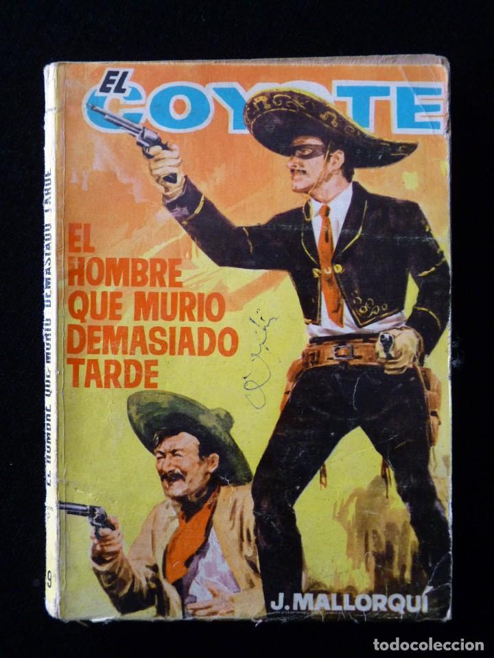 Tebeos: LOTE DE 19 NOVELAS DEL COYOTE. J. MALLORQUI. EDICIONES CID, AÑOS 60 - Foto 16 - 108689639