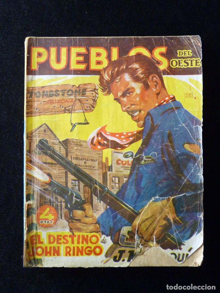 Tebeos: LOTE DE 3 NOVELAS DE PUEBLOS DEL OESTE. EDICIONES CLIPER, AÑOS 1949-50. MALLORQUÍ, LEÓN - Foto 3 - 108689711