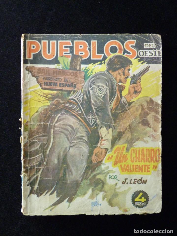 Tebeos: LOTE DE 3 NOVELAS DE PUEBLOS DEL OESTE. EDICIONES CLIPER, AÑOS 1949-50. MALLORQUÍ, LEÓN - Foto 4 - 108689711