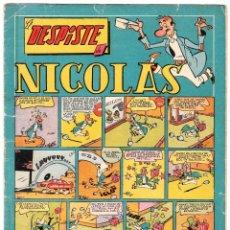Tebeos: NICOLAS Nº: 29 (EL DESPISTE DE NICOLAS). EDICIONES CLIPER, 1948.. Lote 111058383