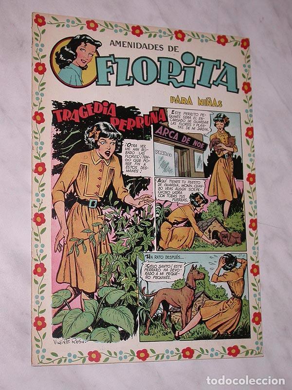 FLORITA Nº 68. VICENTE ROSO, SABATÉS, RIPOLL G., PILI BLASCO, JULIO RIBERA, MIRIOL. CLIPER 1951. +++ (Tebeos y Comics - Cliper - Florita)