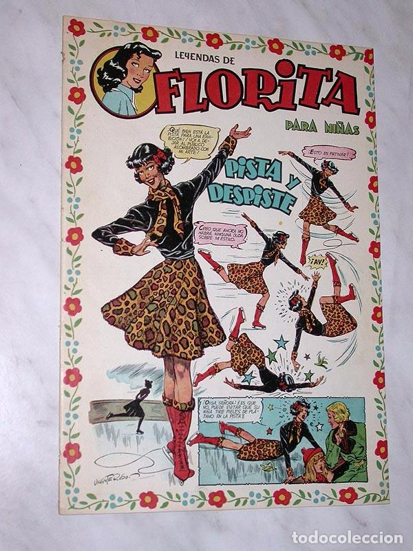 FLORITA Nº 74. VICENTE ROSO MACIÁN BIELSA PILI BLASCO JULIO RIBERA GLADYS PARKER. CLIPER 1951 + (Tebeos y Comics - Cliper - Florita)