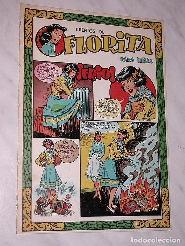 FLORITA Nº 75. VICENTE ROSO, MACIÁN, BIELSA, PILI BLASCO, JULIO RIBERA, GLADYS PARKER. CLIPER 1951 + (Tebeos y Comics - Cliper - Florita)