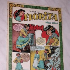 Tebeos: FLORITA Nº 75. VICENTE ROSO, MACIÁN, BIELSA, PILI BLASCO, JULIO RIBERA, GLADYS PARKER. CLIPER 1951 +. Lote 111642947