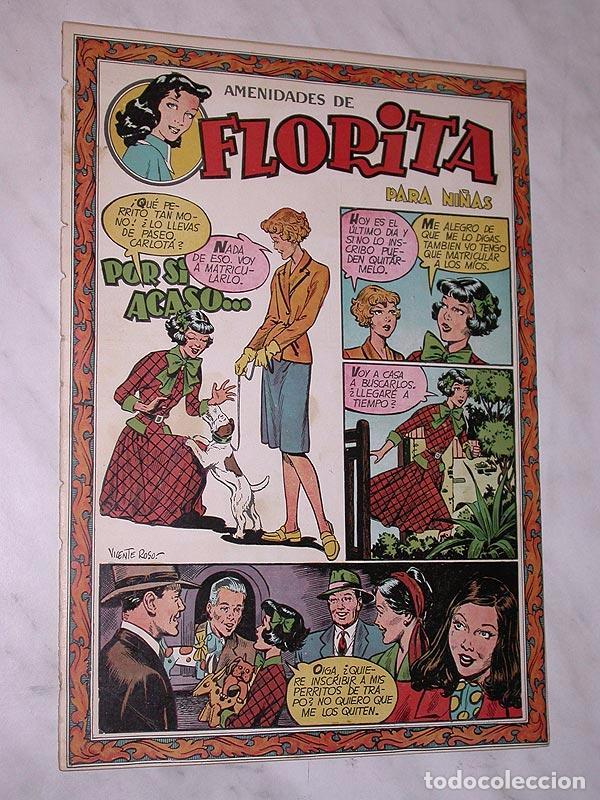 FLORITA Nº 79. VICENTE ROSO, MACIÁN, JESÚS Y PILI BLASCO, JULIO RIBERA, GLADYS PARKER. CLIPER 1951 + (Tebeos y Comics - Cliper - Florita)