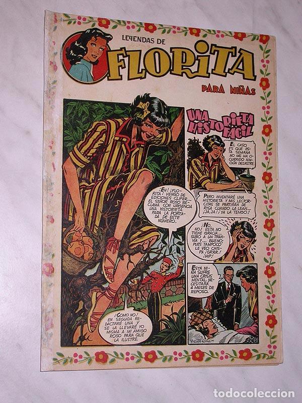 FLORITA Nº 81. VICENTE ROSO, MACIÁN, JESÚS Y PILI BLASCO, JULIO RIBERA, GLADYS PARKER. CLIPER 1951 + (Tebeos y Comics - Cliper - Florita)