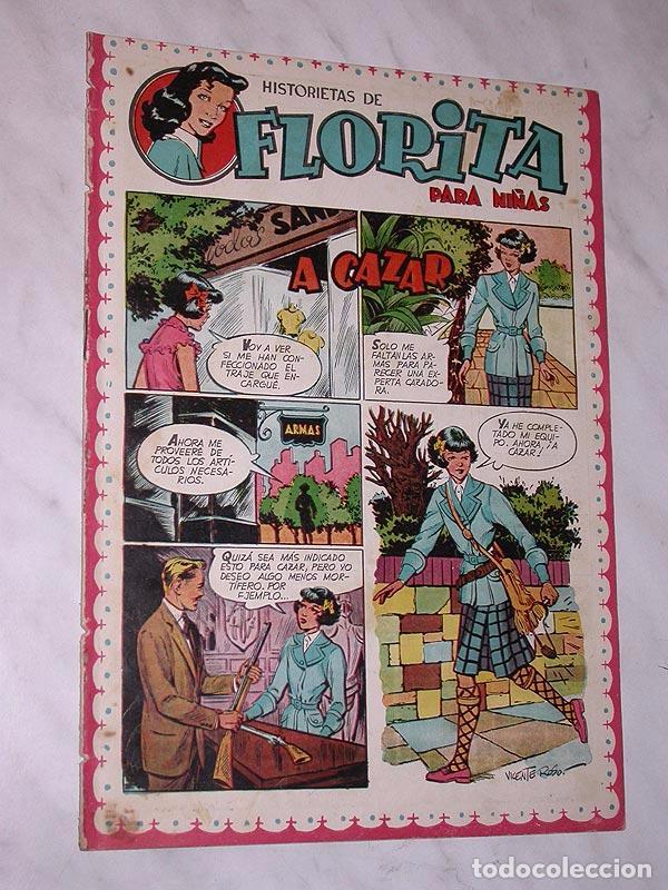 FLORITA Nº 82. VICENTE ROSO, MACIÁN, JESÚS Y PILI BLASCO, JULIO RIBERA, GLADYS PARKER. CLIPER 1951 + (Tebeos y Comics - Cliper - Florita)