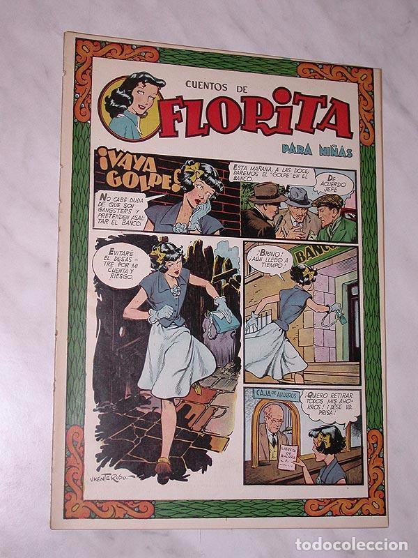 FLORITA Nº 85. VICENTE ROSO, MACIÁN, JESÚS Y PILI BLASCO, JULIO RIBERA, GLADYS PARKER. CLIPER 1951 (Tebeos y Comics - Cliper - Florita)