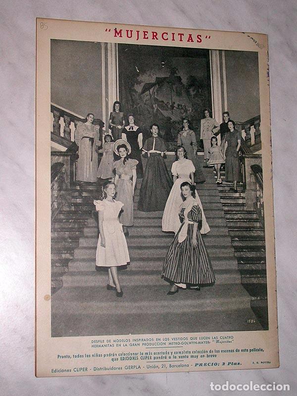 Tebeos: FLORITA Nº 85. VICENTE ROSO, MACIÁN, JESÚS Y PILI BLASCO, JULIO RIBERA, GLADYS PARKER. CLIPER 1951 - Foto 3 - 111644455