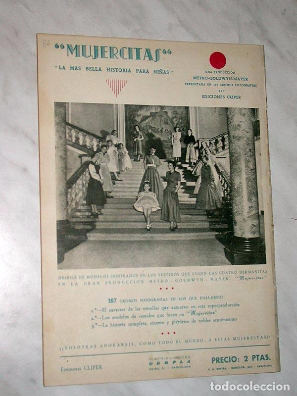Tebeos: FLORITA Nº 86. VICENTE ROSO, MACIÁN, JESÚS Y PILI BLASCO, JULIO RIBERA, GLADYS PARKER. CLIPER 1951 - Foto 3 - 111645615