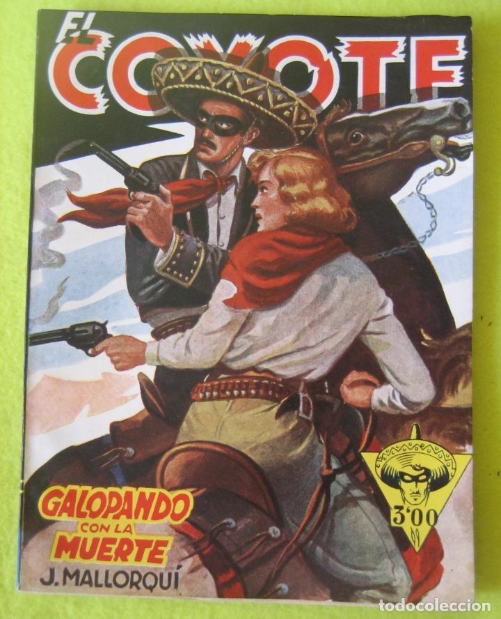 GALOPANDO CON LA MUERTE _ J. MALLORQUI (Tebeos y Comics - Cliper - El Coyote)