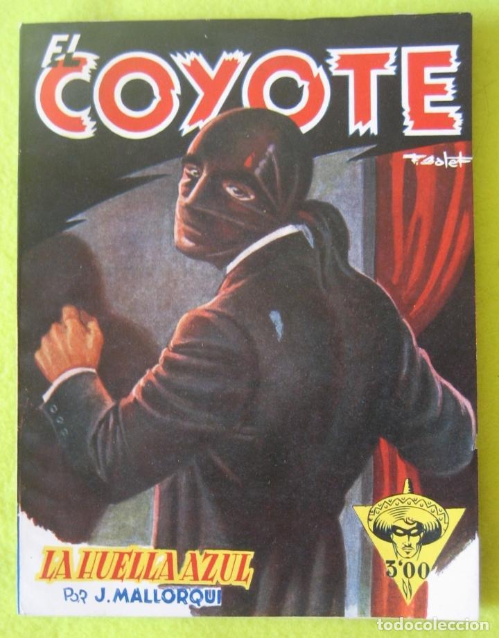 LA HUELLA AZUL- . MALLORQUI (Tebeos y Comics - Cliper - El Coyote)