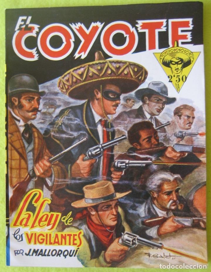 LA LEY DE LOS VIGILANTES _ J. MALLORQUI (Tebeos y Comics - Cliper - El Coyote)