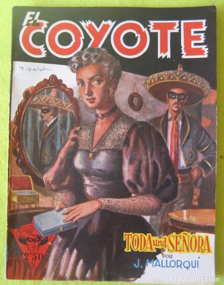 TODA UNA SEÑORA_ J. MALLORQUI (Tebeos y Comics - Cliper - El Coyote)