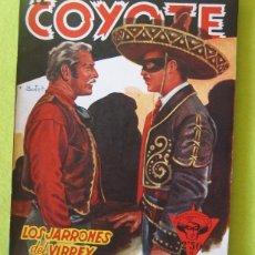 Tebeos: EL COYOTE _ LOS JARRONES DEL VIRREY - J. MALLORQUI. Lote 112594707
