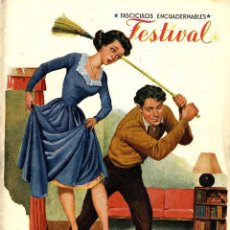 Tebeos: FESTIVAL-9 (CLIPER, 1951) PORTADA DE BATET. Lote 112880731