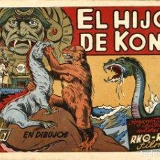 Tebeos: EL HIJO DE KONG, DE TOMÁS PORTO (CISNE, 1942) COL. PELÍCULAS FAMOSAS. SIN CROMOS.. Lote 113211015