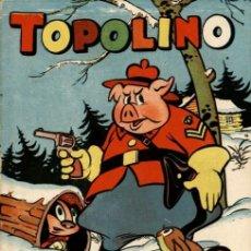 Tebeos: TOPOLINO-11 (CLIPER, 1950) PORTADA DE JESÚS BLASCO. Lote 113368555
