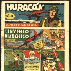 Tebeos: HURACÁN, EL PILOTO FANTASMA-6, DE LUIS (CLIPER, 1942). Lote 113368987