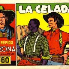 Tebeos: EL INTRÉPIDO ARIZONA (CLIPER, 1942) PORTADA DE JESÚS BLASCO. SIN LOS CROMOS DE CONTRAPORTADA. Lote 113370035