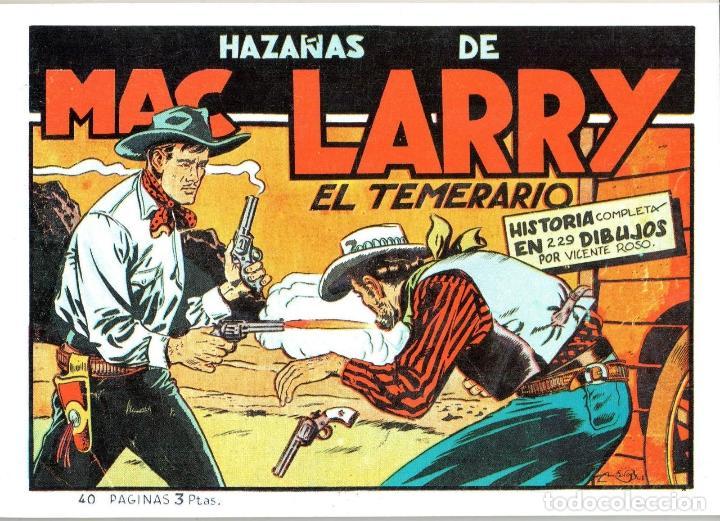DE LAS PAGINAS DE EL COYOTE, MC LARRY DE VICENTE ROSO.TOMO UNICO: 40 PAGINAS (Tebeos y Comics - Cliper - El Coyote)