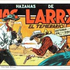 Tebeos: DE LAS PAGINAS DE EL COYOTE, MC LARRY DE VICENTE ROSO.TOMO UNICO: 40 PAGINAS. Lote 214463661