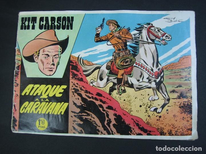 KIT CARSON Nº2 (1958, CLIPER) (Tebeos y Comics - Cliper - Otros)