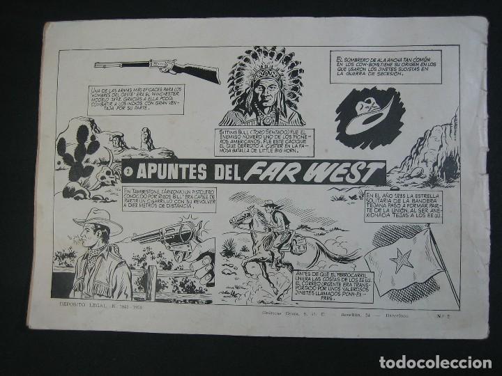 Tebeos: KIT CARSON Nº2 (1958, CLIPER) - Foto 2 - 114473951