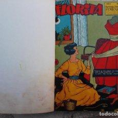 Tebeos: FLORITA,REVISTA JUVENIL FEMENINA 23 TEBEOS ENCUADERNADOS EN UN TOMO,Nº 458,460,464,465,466. Lote 117185259