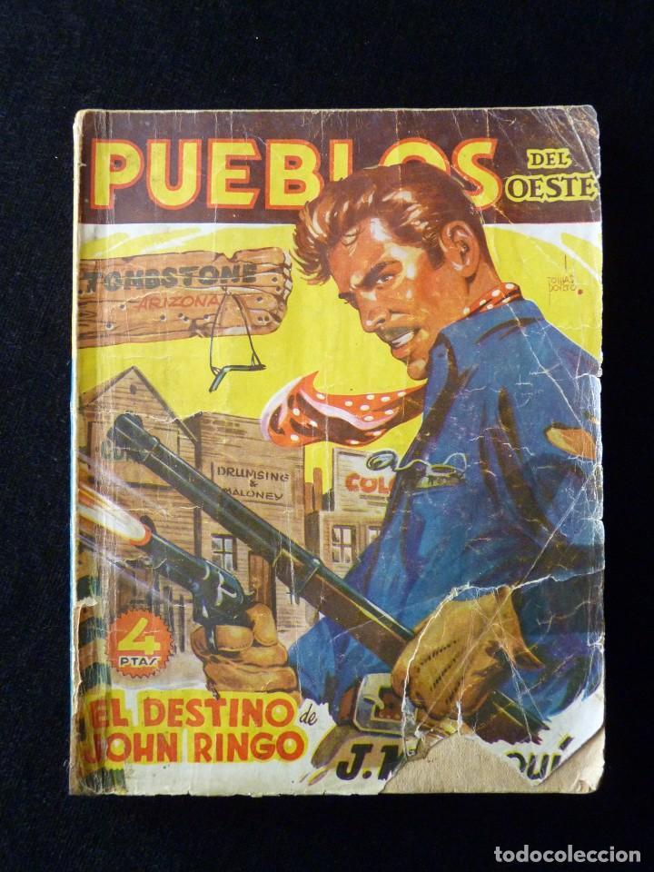 Tebeos: LOTE DE 2 NOVELAS DE PUEBLOS DEL OESTE. EDICIONES CLIPER, AÑOS 1949. MALLORQUÍ, LEÓN - Foto 3 - 117849979