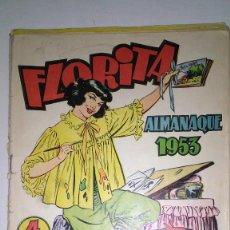Tebeos: * ALMANAQUE DE FLORITA PARA NIÑAS * AÑOS 1953/54/55 * EDICIONES CLIPER * LOTE DE 3 Nº *. Lote 120210523