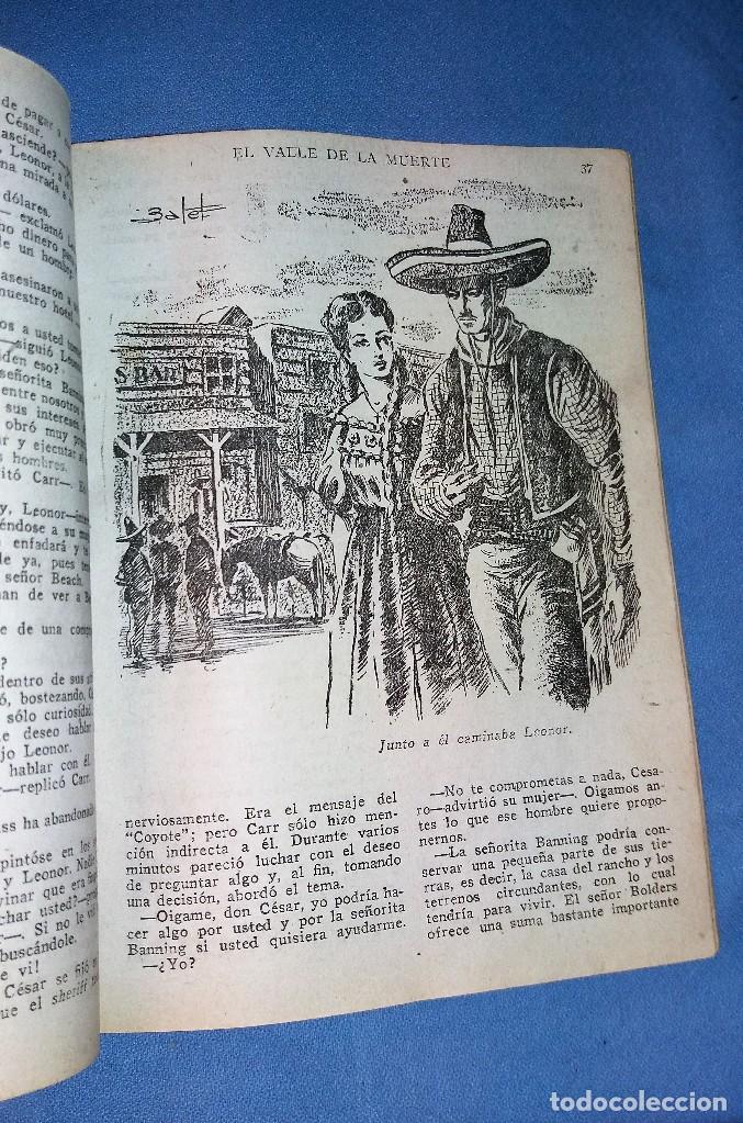Tebeos: GRAN LOTE DE EL COYOTE DE JOSE MALLORQUI EDICIONES CLIPER 1º EDICION AÑOS 40 VER DESCRIPCION - Foto 3 - 121020895