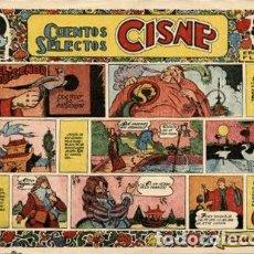 Tebeos: CUENTOS SELECTOS CISNE: EL RUISEÑOR (EDICIONES FLORITA. CLIPER, 1950) DE VINTRÓ.. Lote 121029203