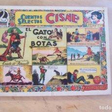 Tebeos: CLIPER-CISNE, CUENTOS SELECTOS Nº 4 EL GATO CON BOTAS, EDICIONES FLORITA . Lote 121600039
