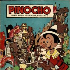 Tebeos: PINOCHO NÚMERO 1 (CLIPER, 1957). Lote 121858547