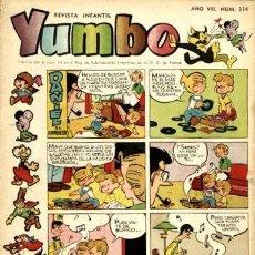 Tebeos: YUMBO NÚMERO 314 (CLIPER, 1959). Lote 122001827