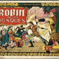 Tebeos: ROBIN DE LOS BOSQUES - COLECCION CUENTOS DE HADAS [7] - EDICIONES CLIPER 1948 - ORIGINAL - MUY RARO. Lote 122567287