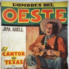 Tebeos: COMIC N°44 HOMBRES DEL OESTE. Lote 126326544