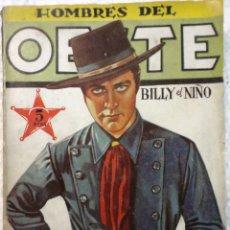 Tebeos: COMIC N°16 HOMBRES DEL OESTE. Lote 126326828