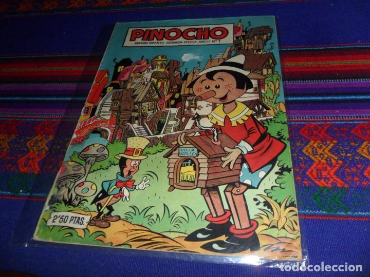 PINOCHO Nº 1 SEGUNDA ÉPOCA. CLIPER AÑOS 50. BUEN ESTADO Y DIFÍCIL. (Tebeos y Comics - Cliper - Otros)
