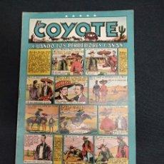 Tebeos: EL COYOTE - Nº 23 - CUANDO LOS PERDEDORES GANAN - EDICIONES CLIPER - ORIGINAL. Lote 127613383