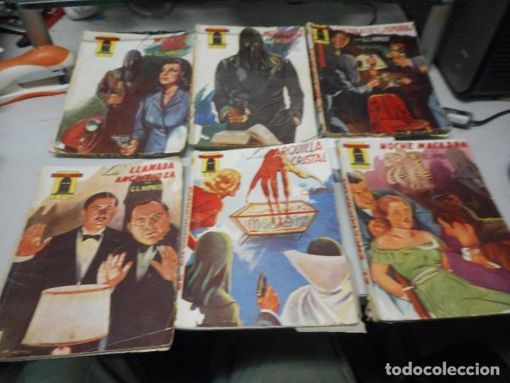 EL ENCAPUCHADO CLIPER LOTE 6 NUMEROS 7,10,12,15,18,27 (Tebeos y Comics - Cliper - Otros)