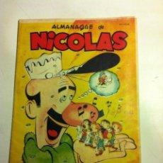 Tebeos: NICOLÁS - ALMANAQUE 1952 - MUY BIEN CONSERVADO. Lote 128723467