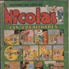 Tebeos: COMIC COLECCION NICOLAS Nº 12. Lote 128861975