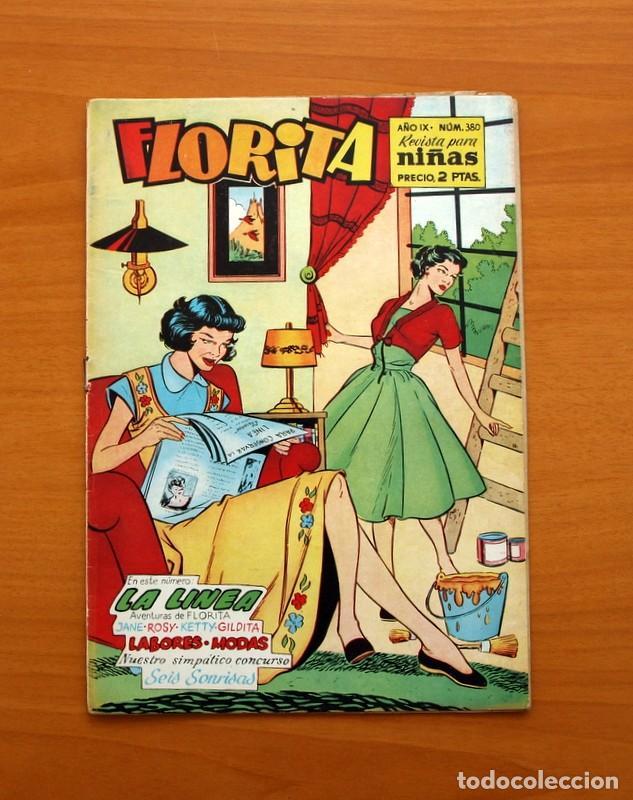 FLORITA - Nº 380 - EDICIONES CLIPER 1949 (Tebeos y Comics - Cliper - Florita)