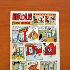 Tebeos: NICOLAS - NO QUIERE PATINAR, Nº 51 - EDICIONES CLIPER 1948 . Lote 129712551