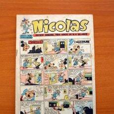 Tebeos: NICOLAS - Nº 188 - EDICIONES CLIPER 1948 . Lote 129712867