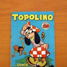 Tebeos: TOPOLINO - DONDE ESTA LA PELOTA, Nº 8 - EDICIONES CLIPER 1950. Lote 129713623
